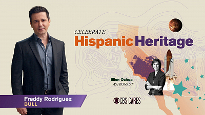 CBS Cares - Freddy Rodriguez on Hispanic Heritage Month