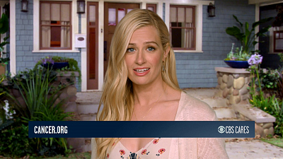CBS Cares - Beth Behrs On Breast Cancer