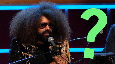 The Late Late Show with James Corden - Something's Different About Reggie Watts