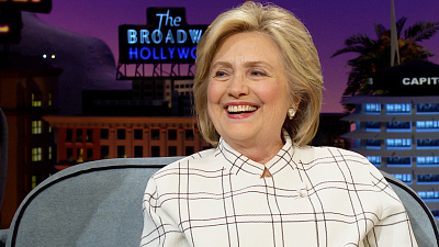 The Late Late Show with James Corden - Hillary Clinton Is Worried About Rudy Giuliani's Brain