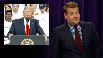 The Late Late Show with James Corden - Kentucky & Virginia Didn't Grant Trump His Wish