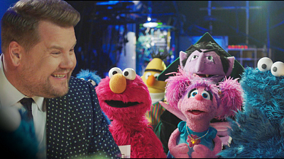 The Late Late Show with James Corden - Sesame Street Cast Crashes The Late Late Show (Cold Open)
