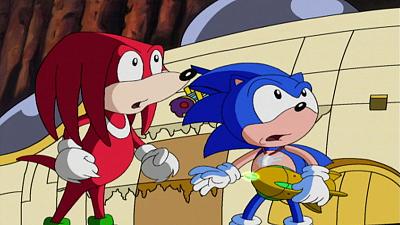 Sonic Underground - New Echidna in Town
