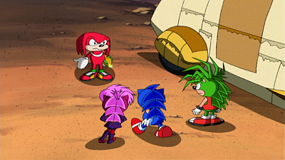 Sonic Underground - No Hedgehog is an Island