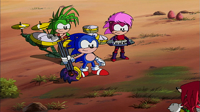 Sonic Underground - Flying Fortress