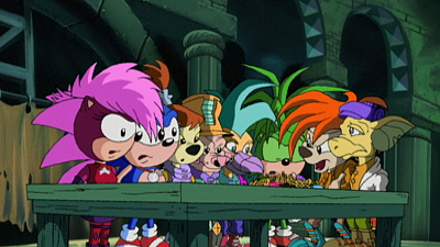 Sonic Underground - Underground Masquerade