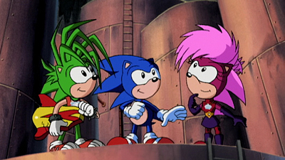 Sonic Underground - To Catch a Queen