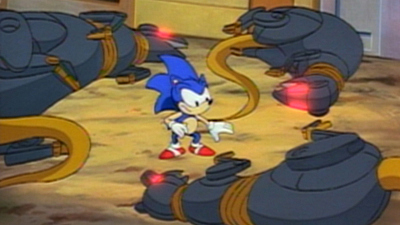 Sonic The Hedgehog - Warp Sonic