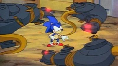 Sonic The Hedgehog - Warp Sonic