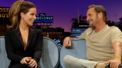 The Late Late Show with James Corden - Josh Lucas's Son Had A Way Better First Kiss Than Kate Beckinsale