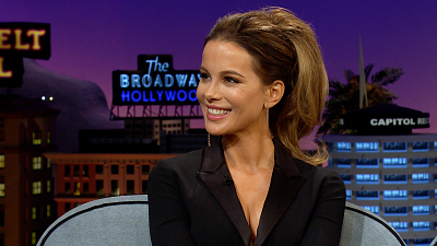 The Late Late Show with James Corden - Kate Beckinsale Will Gladly Attend Your Butt Surgery