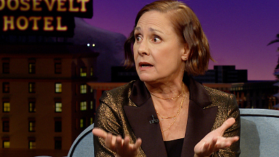 The Late Late Show with James Corden - Laurie Metcalf Has Been Doubling as a Ranch Woman