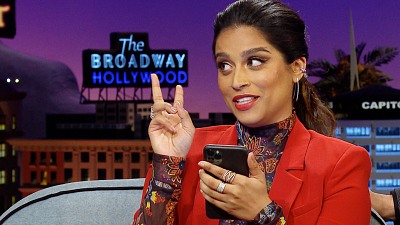 The Late Late Show with James Corden - Lilly Singh Reads the First Text James Corden Sent Her