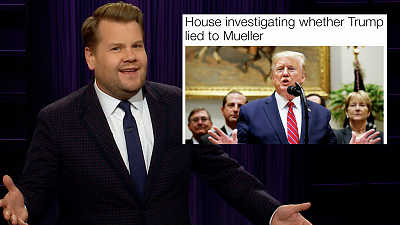 The Late Late Show with James Corden - So... Is Double Impeachment A Thing?