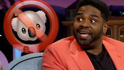 The Late Late Show with James Corden - Ron Funches And The Perils Of Koala Petting