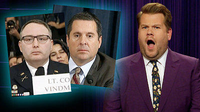 The Late Late Show with James Corden - Things Got Sassy During Impeachment Hearing Day 3