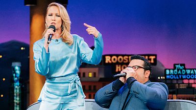 "The Late Late Show with James Corden - Meet ""Vodka Cran"" --- Anna Camp's Rapping Alter Ego"
