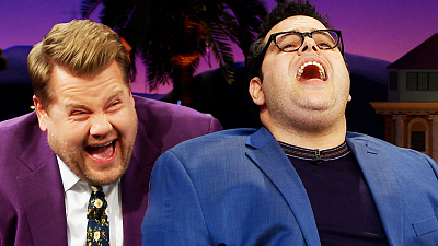 The Late Late Show with James Corden - Josh Gad's Idina Menzel Impression Wrecks James Corden