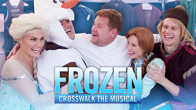 The Late Late Show with James Corden - Crosswalk the Musical: Frozen ft. Kristen Bell, Idina Menzel, Josh Gad & Jonathan Groff