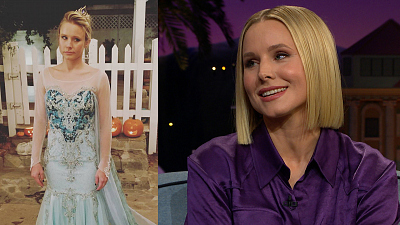 The Late Late Show with James Corden - Kristen Bell Had Dressed as Elsa, Not Anna, Before Crosswalk