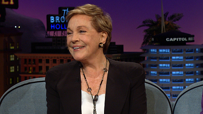 The Late Late Show with James Corden - Julie Andrews's Highs & Lows of Shooting 'Sound of Music'