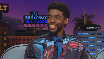 The Late Late Show with James Corden - Chadwick Boseman Can't Hide, Even When He's Hiding