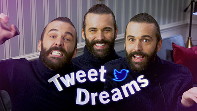 The Late Late Show with James Corden - Tweet Dreams with Jonathan Van Ness