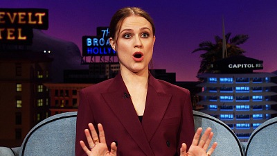 The Late Late Show with James Corden - Evan Rachel Wood Lets Her RAGE Out