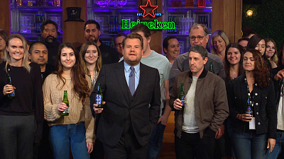 The Late Late Show with James Corden - Happy Thanksgiving from The Late Late Show & Heineken
