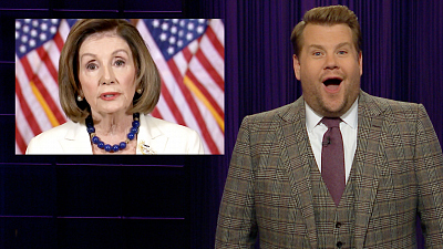 The Late Late Show with James Corden - It's Time to Draft Articles of Impeachment