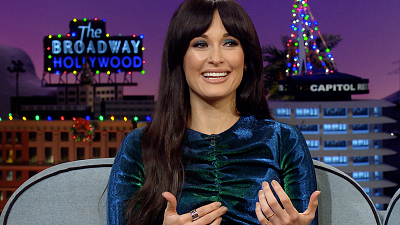 The Late Late Show with James Corden - Kacey Musgraves Pieces Together Her CMA After Party
