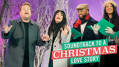 The Late Late Show with James Corden - Soundtrack to a Christmas Love Story w/ Kacey Musgraves