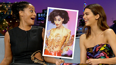The Late Late Show with James Corden - Tracee Ellis Ross & Kendall Jenner Nerd Out Over Runway Modeling
