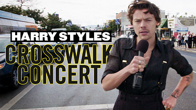 The Late Late Show with James Corden - Harry Styles Performs a Crosswalk Concert