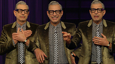 The Late Late Show with James Corden - Hello, Class, Today's Teacher Is Mr. Goldblum