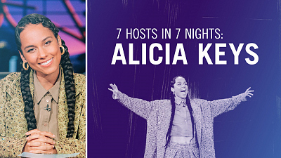 The Late Late Show with James Corden - 7 Hosts In 7 Days: Alicia Keys