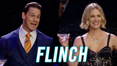 The Late Late Show with James Corden - Flinch w/ John Cena & January Jones