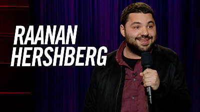 The Late Late Show with James Corden - Raanan Hershberg Stand-Up