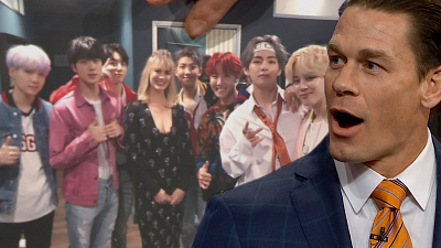 The Late Late Show with James Corden - Who Is John Cena's Favorite BTS Member?