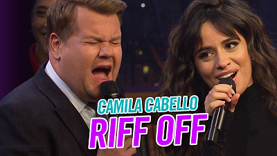 The Late Late Show with James Corden - 1999 v 2019 Riff-Off w/ Camila Cabello