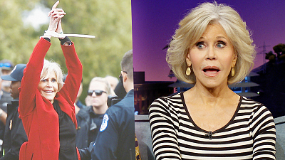The Late Late Show with James Corden - Jail Won't Keep Jane Fonda from Fighting for Change