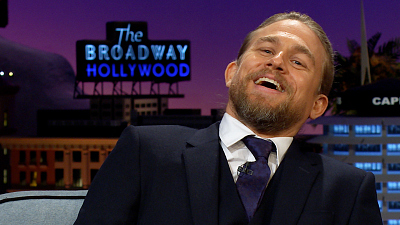 The Late Late Show with James Corden - Don't Challenge Charlie 'Mantis' Hunnam to Online Chess