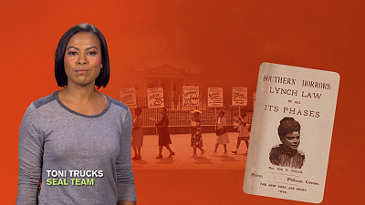 CBS Cares - Toni Trucks on Ida B. Wells