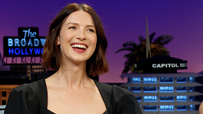 The Late Late Show with James Corden - Caitriona Balfe Is Officially One of CA's Worst Drivers