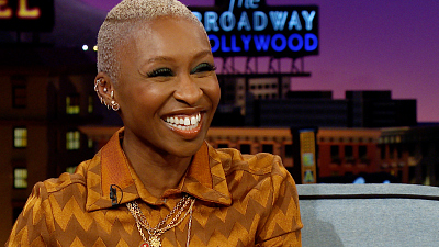The Late Late Show with James Corden - Cynthia Erivo Dishes on the Private Oscar's Luncheon