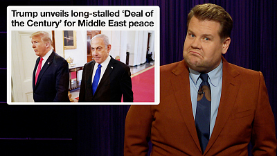 The Late Late Show with James Corden - Peace In the Middle East is the Deal of the Century