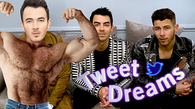 The Late Late Show with James Corden - Tweet Dreams w/ The Jonas Brothers