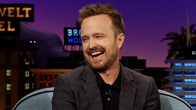 The Late Late Show with James Corden - Aaron Paul Needs Help with His Hands