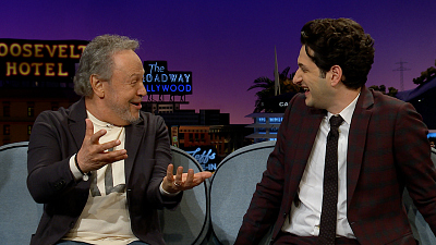 The Late Late Show with James Corden - Sonic The Hedgehog Meets Mike Wazowski w/ Billy Crystal & Ben Schwartz