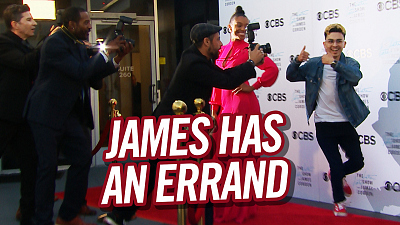 The Late Late Show with James Corden - James Has An Errand For A Speedy Audience Member